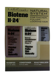 GNC Mill Creek Botanicals Biotene H-24 Kit for Hair Front