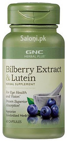 GNC Herbal Plus Bilberry Extract & Lutein