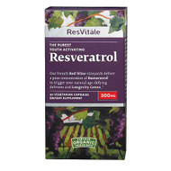 GNC ResVitále™ Resveratrol Pure Youth Activating 500 MG