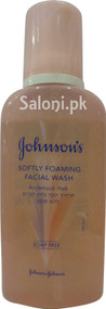 Johnson's Softly Foaming Facial Wash (Front)