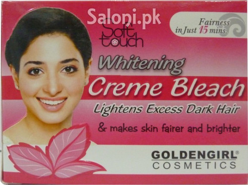 Soft Touch Whitening Creme bleach 88.2 Grams (Front)