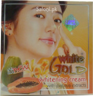 White Gold Whitening Cream With Papaya Extracts (Front)