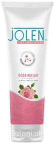 Jolen Rose Water Extract Facewash Gel Front