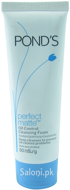 Pond's Perfect Matte Oil Control Cleansing Foam Front