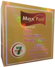Max Fair Skin Whitening Beauty Cream Front