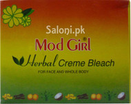 Mod Girl Herbal Creme Bleach for Acne and Whole Body (Front)