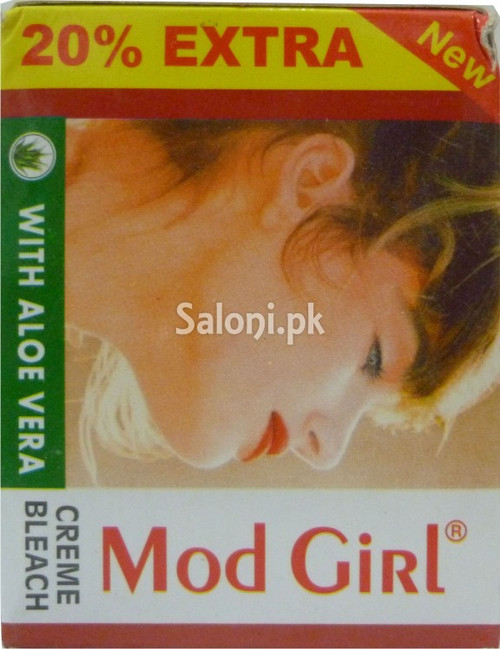 Mod Girl Creme Bleach with Aloe Vera (Front)