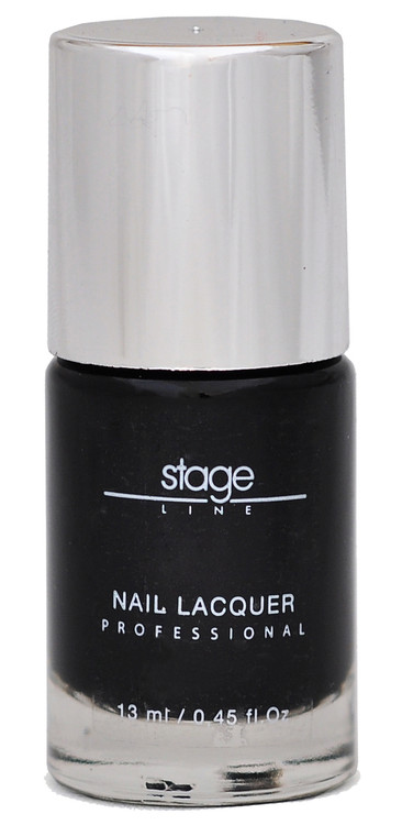 Stage Line Nail Lacquer 71 - Black Star