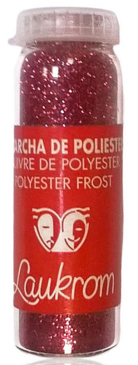 Stage Line Polyester Frost Glitter Fuchsia