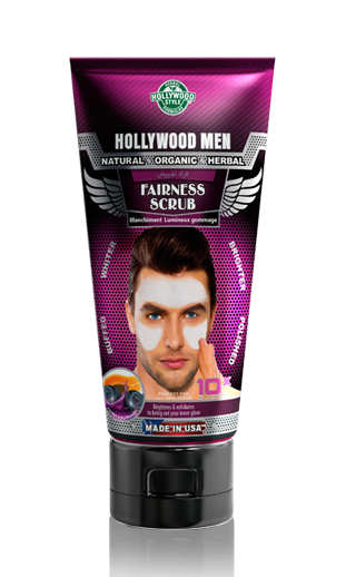 Hollywood Men Fairness Scrub
