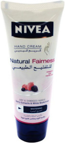 Nivea Natural Fairness Hand Cream