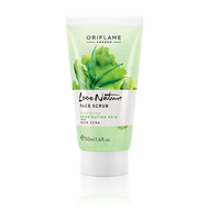 Oriflame Love Nature Face Scrub Aloe Vera for Combination Skin