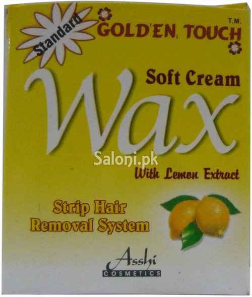 Golden Touch Soft Cream Wax with Lemon Extract (Front)