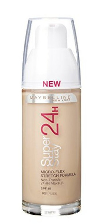 Maybelline Superstay 24H Foundation 021 Nude