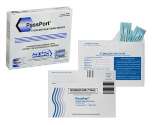 PassPort Plus Sterilizer Monitoring Service  box of 12
