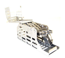 Cargo 4 plier orthodontic cassette, cargo box  with removable instrument tray