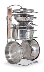 Stainless Steel Pots & Pans