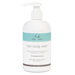 Aden + Anais hair + body wash skin care