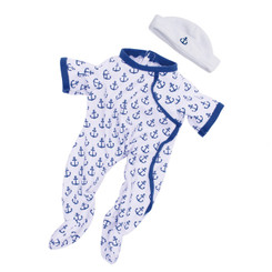 Baby Stella(or Fella) Anchors Away Outfit