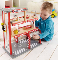 Hape Playscapes Fire Station