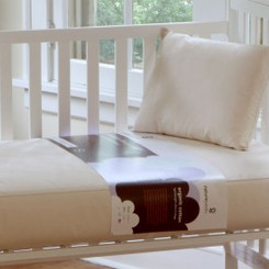 Lightweight Organic Cotton Ultra 2-Stage Crib Mattress