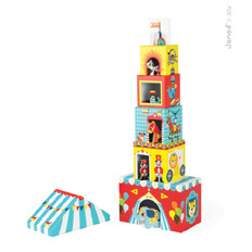 "Janod Multikub ""Circus"" (stacker with figures)"
