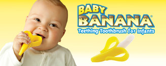 Baby Banana Infant Teething Toothbrush