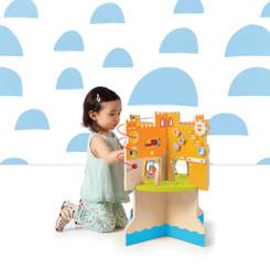 Wood Castle Activity Toy