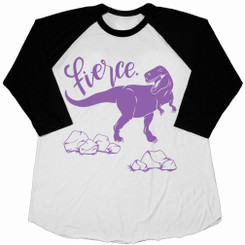 Fierce T-Rex Kids Tee