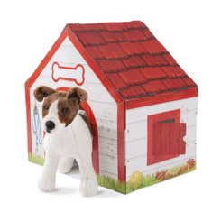 Melissa & Doug Plush Pet Indoor Doghouse