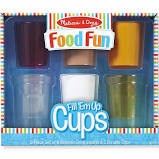 Melissa & Doug Doorbell Fill 'em Up Cups