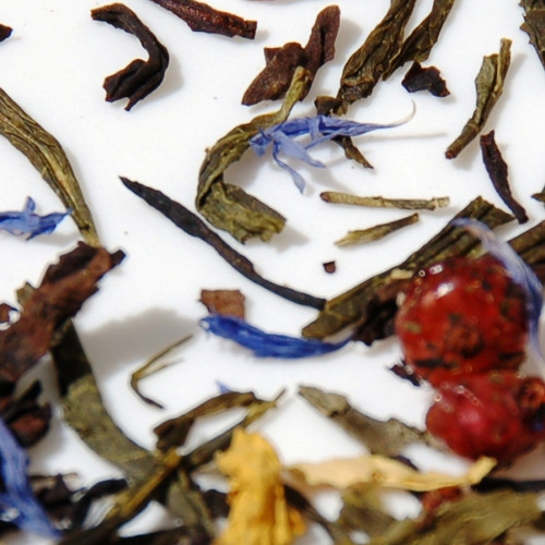 Currant Oolong, Long Life, Peach Blossom Loose Leaves. The name depends on where you experienced this sophisticated taste of tea.