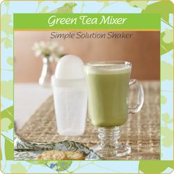 Green Tea Mixer Smoothie