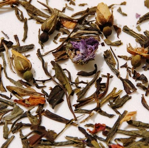 White Rose tea leaves