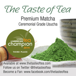 Proud winner in the North American Tea Championship 2014