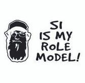 Si Is My Role Model Sticker