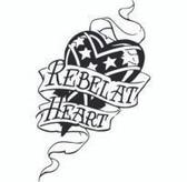 Rebel At Heart Sticker