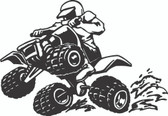 ATV 4 Wheeler Sticker