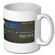 NUFC 1 Middlesbrough 2 Ceefax Mug