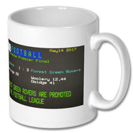 Forest Green Rovers Play Off Ceefax Mug