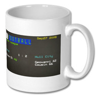 Arsenal 1 Hull City 2 Ceefax Mug