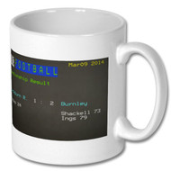 Blackburn 1 Burnley 2 Ceefax Mug