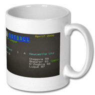 Sunderland 1 Newcastle 4 (2006) Cefax Mug