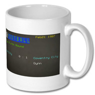 Stoke City 0 Coventry City 1 FA Cup Ceefax Mug
