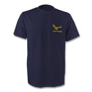Yarm Rugby TeeJays T-Shirt - Navy Gold