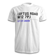 Q.P.R. Road Sign T-Shirt - Loftus Road