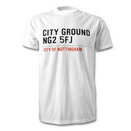 Nottingham Forest Road Sign T-Shirt - City Ground