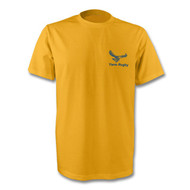 Yarm Rugby TeeJays T-Shirt - Gold and Navy