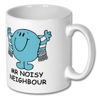 MCFC Mr Noisy Neighbour Mug - Includes Free Coaster - Free  UK Delivery