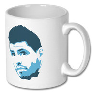 Sergio Aguero Mug and Coaster Set - Free UK Delivery